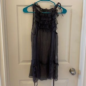 Tops - Sheer Tank Top from Italy